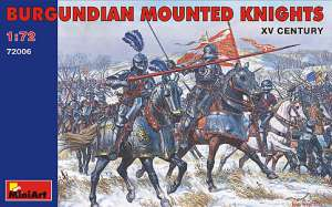 Caballeros Borgoñones montados . Siglo   (Vista 1)