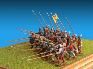 Caballeros Suizos. Siglo XV  (Vista 1)