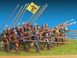 Caballeros Suizos. Siglo XV  (Vista 4)