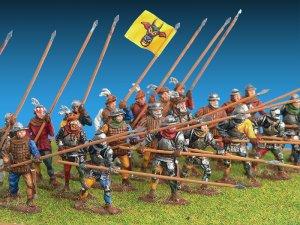 Caballeros Suizos. Siglo XV  (Vista 5)