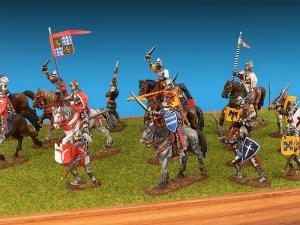 Caballeros Germanicos. Siglo XV  (Vista 3)