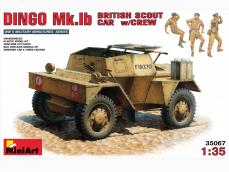 Dingo Mk.1b British Armored Car con dotacion - Ref.: MIAR-35067