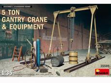 Grúa de pórtico de 5 toneladas y equipo - Ref.: MIAR-35589
