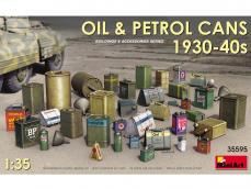 Latas de aceite y gasolina 1930-40s - Ref.: MIAR-35595