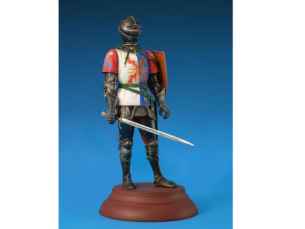 Caballero Borgoñes Siglo XV (Vista 3)