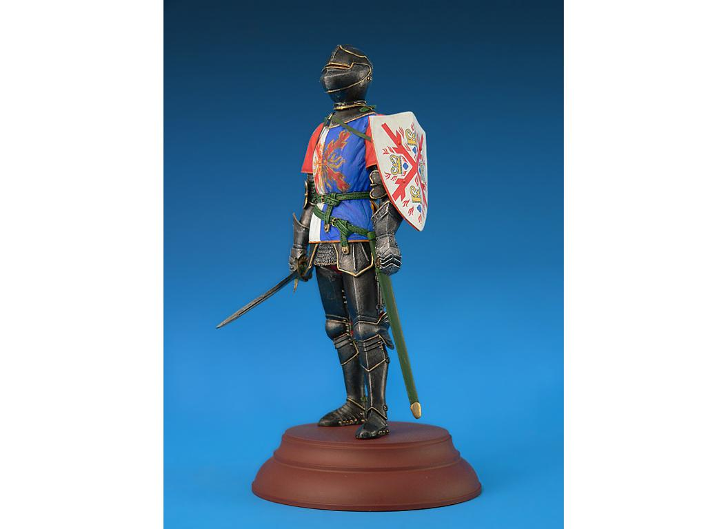 Caballero Borgoñes Siglo XV (Vista 5)