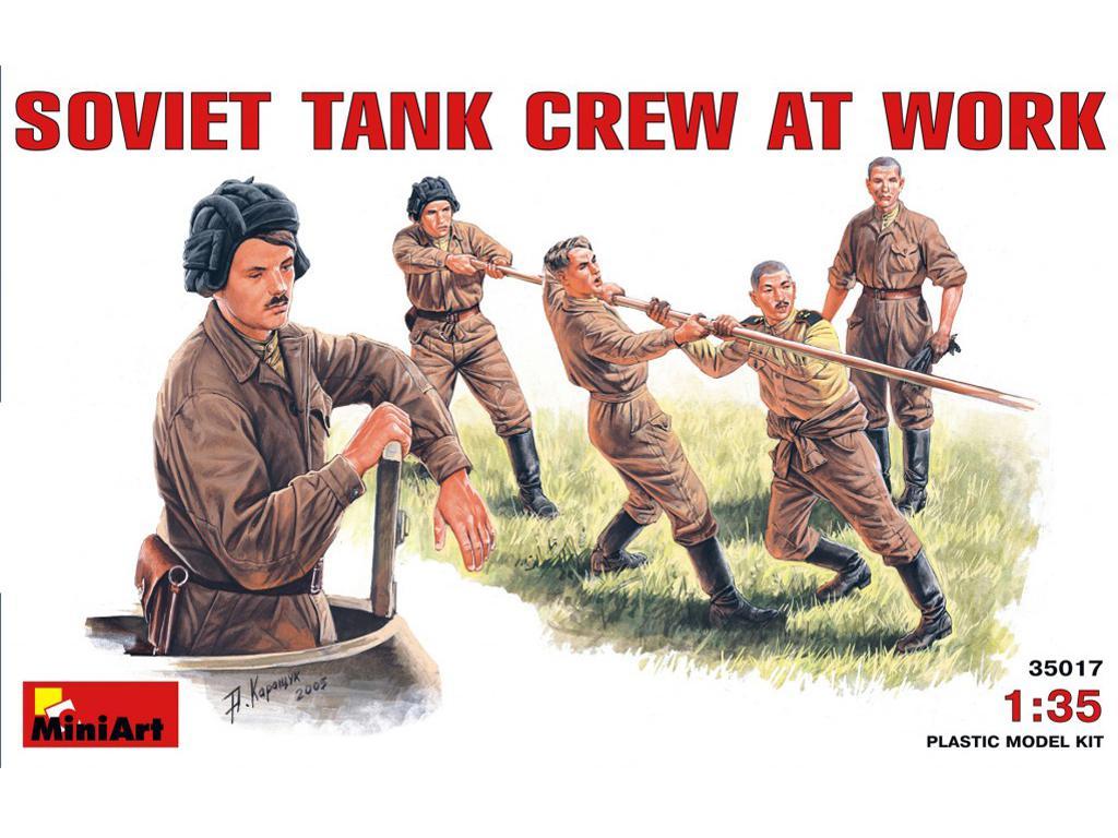 Carristas sovieticos Trabajando (Vista 1)