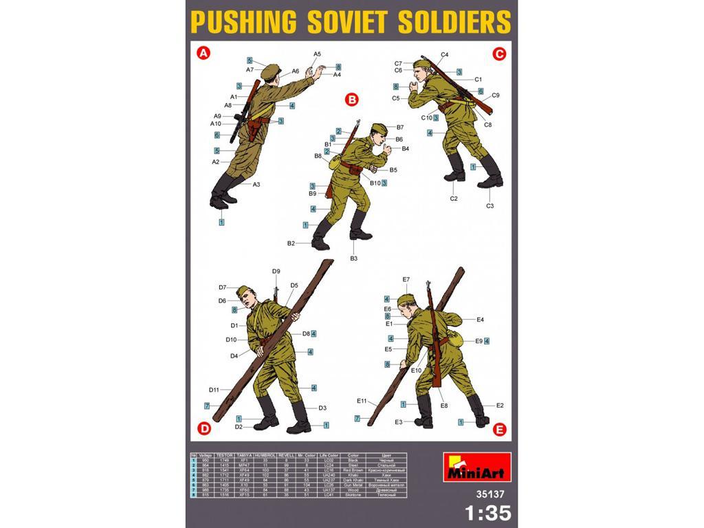 Carristas sovieticos Trabajando (Vista 2)