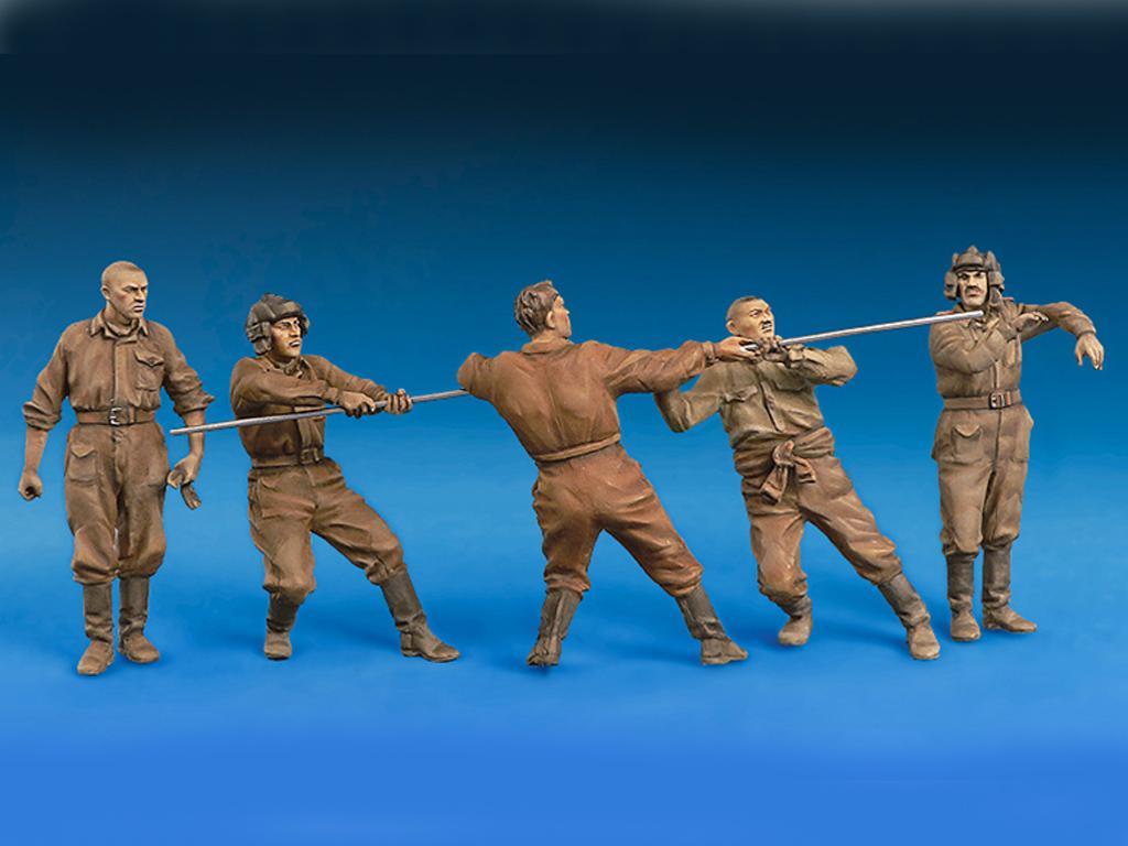 Carristas sovieticos Trabajando (Vista 3)