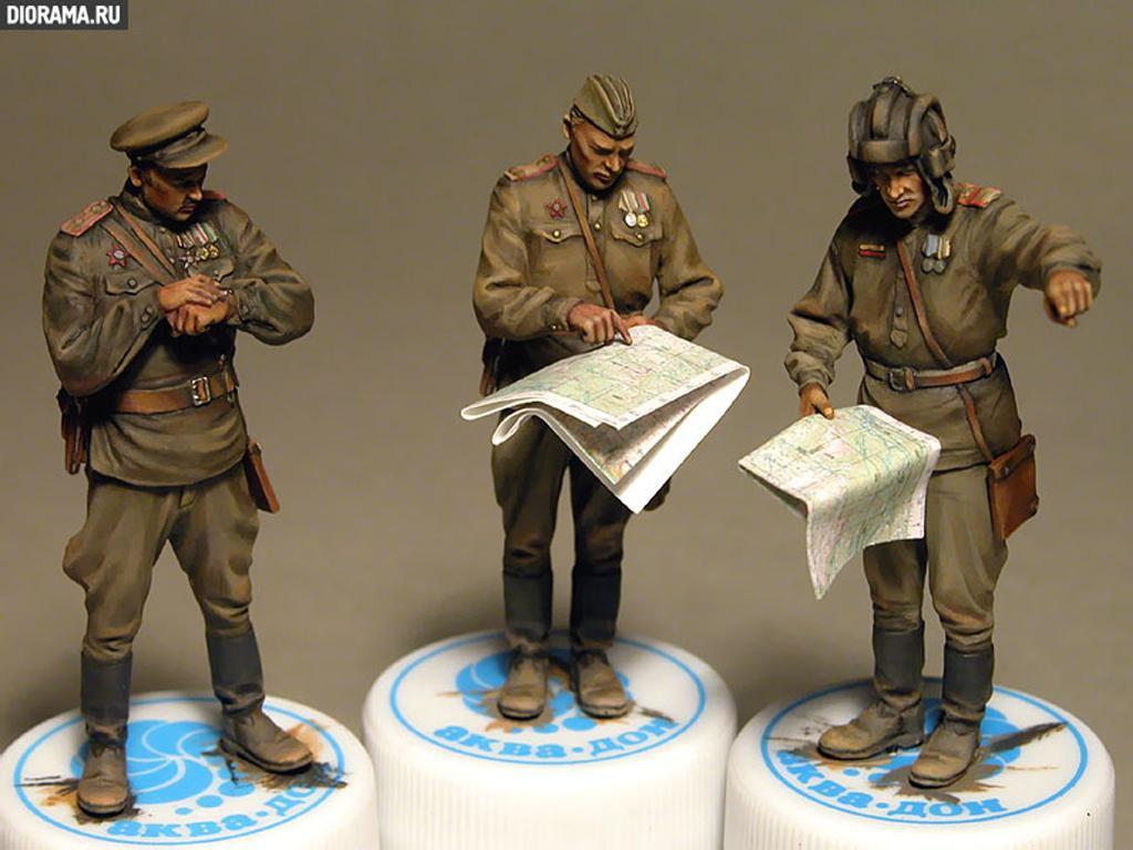 Oficiales soviéticos (Vista 3)