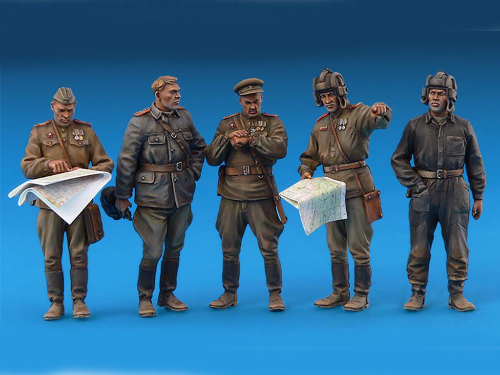 Oficiales soviéticos (Vista 4)