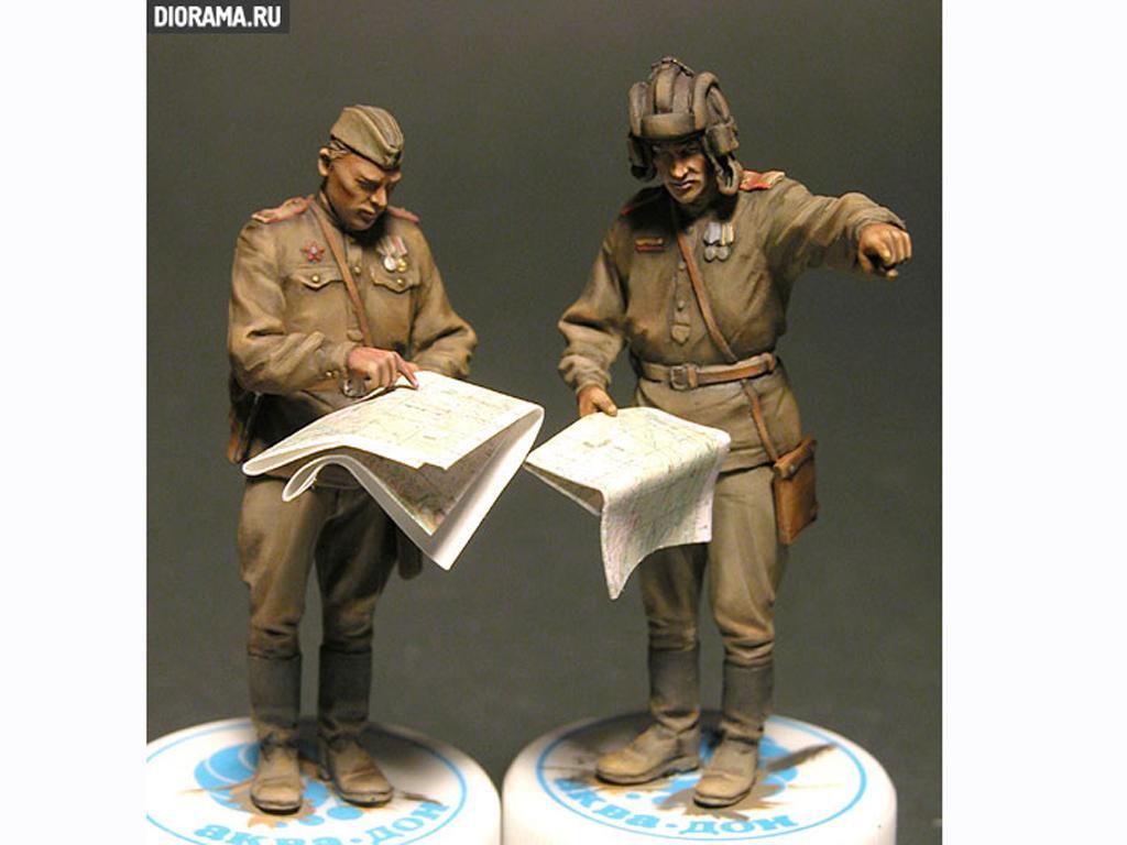 Oficiales soviéticos (Vista 5)