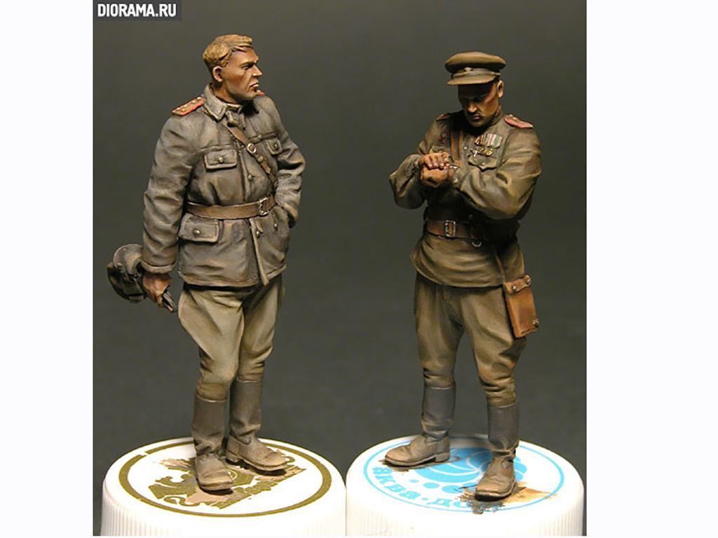 Oficiales soviéticos (Vista 6)