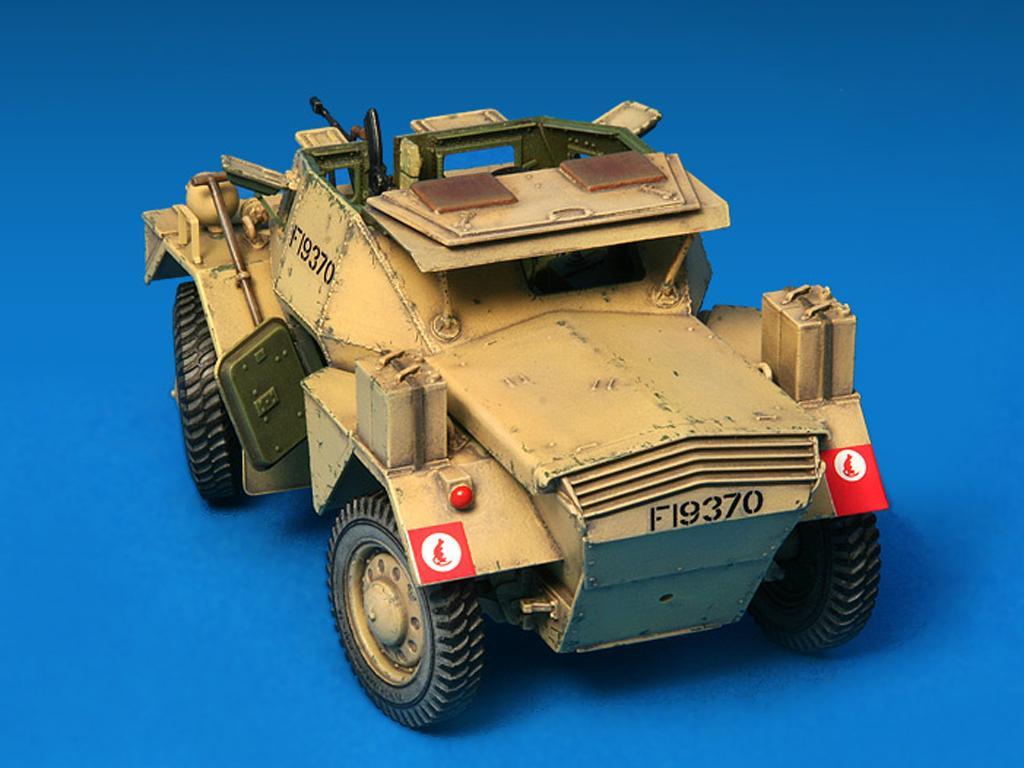 Dingo Mk.1b British Armored Car con dotacion (Vista 10)
