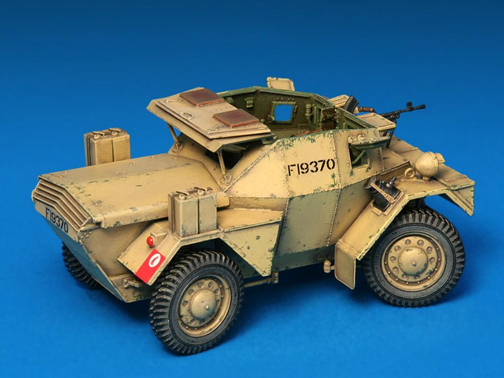 Dingo Mk.1b British Armored Car con dotacion (Vista 12)