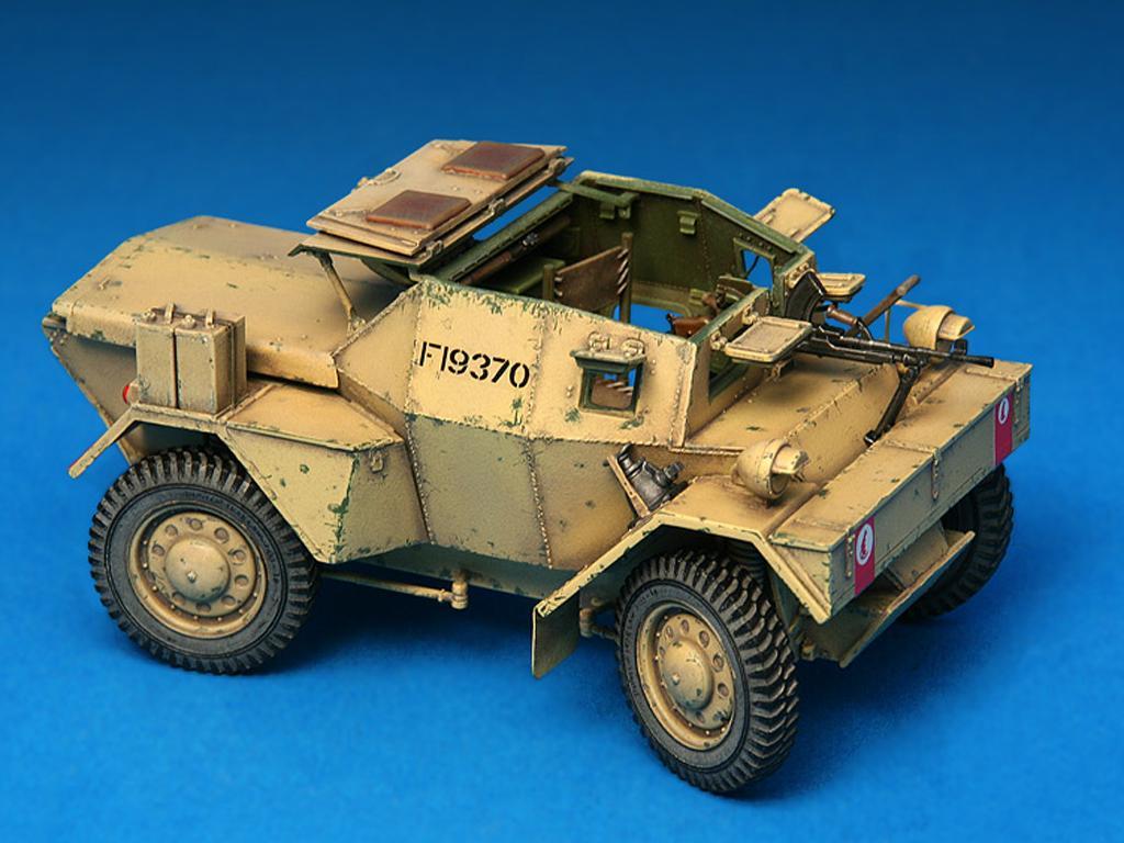 Dingo Mk.1b British Armored Car con dotacion (Vista 2)