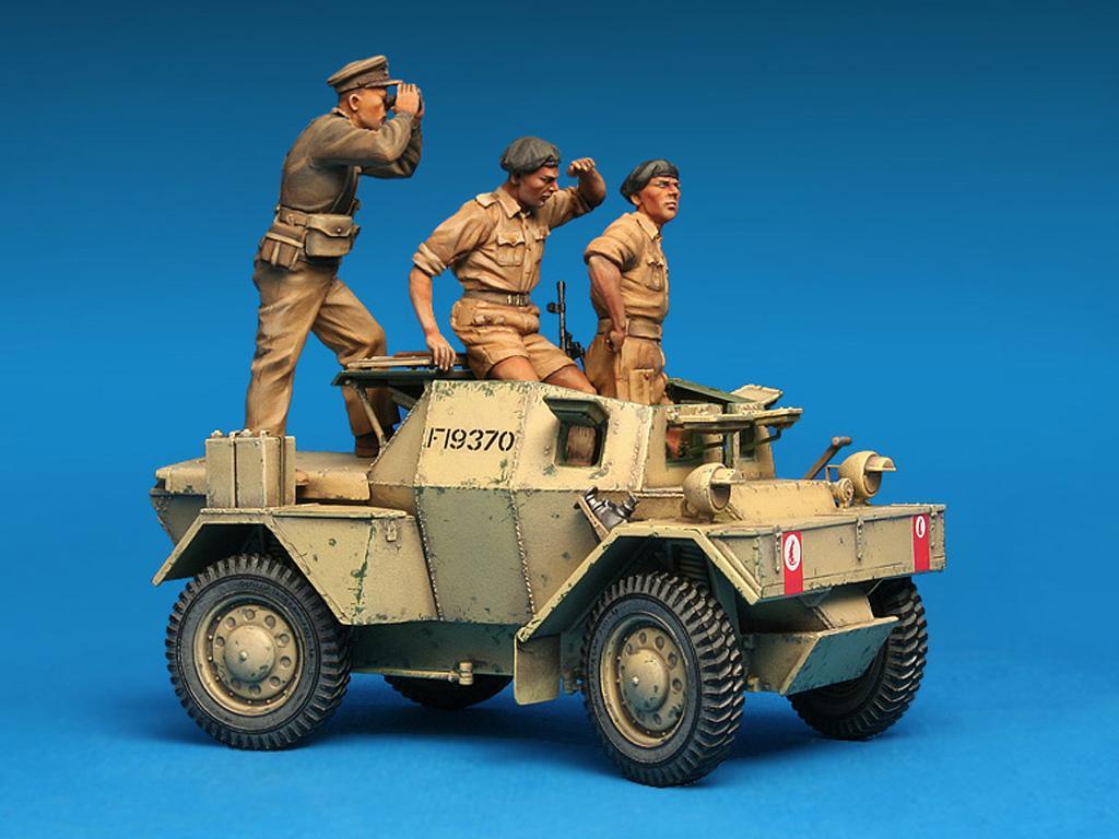 Dingo Mk.1b British Armored Car con dotacion (Vista 3)