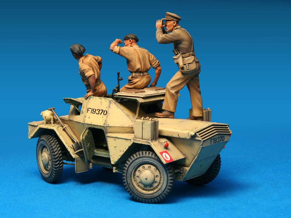 Dingo Mk.1b British Armored Car con dotacion (Vista 4)
