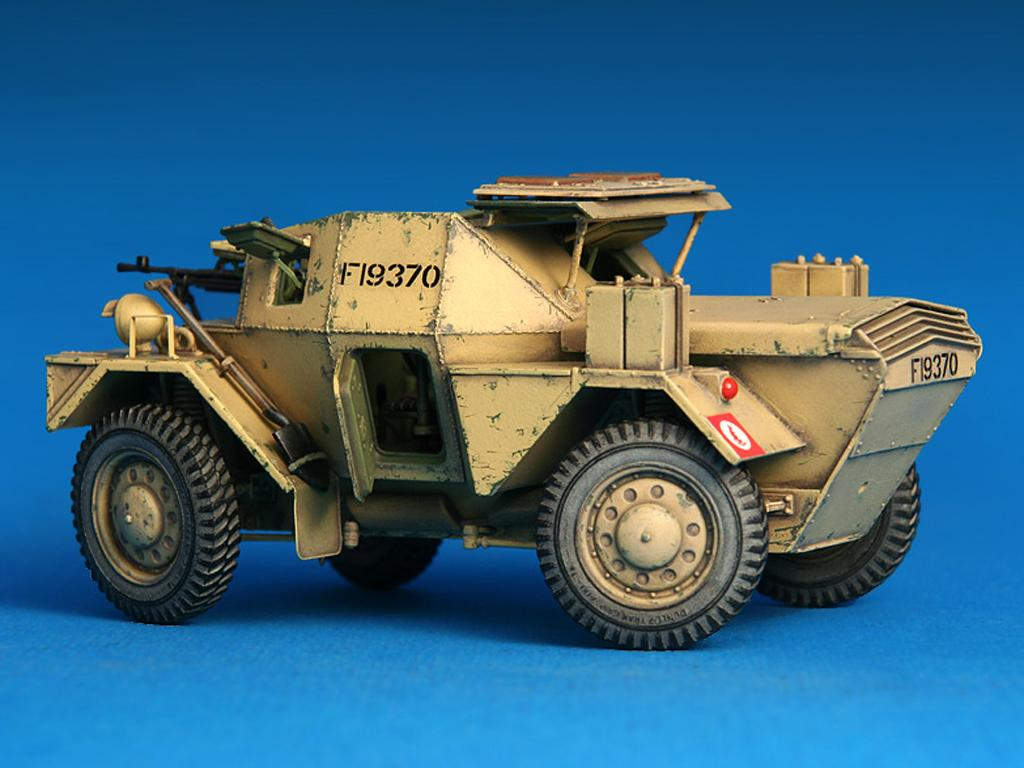 Dingo Mk.1b British Armored Car con dotacion (Vista 5)