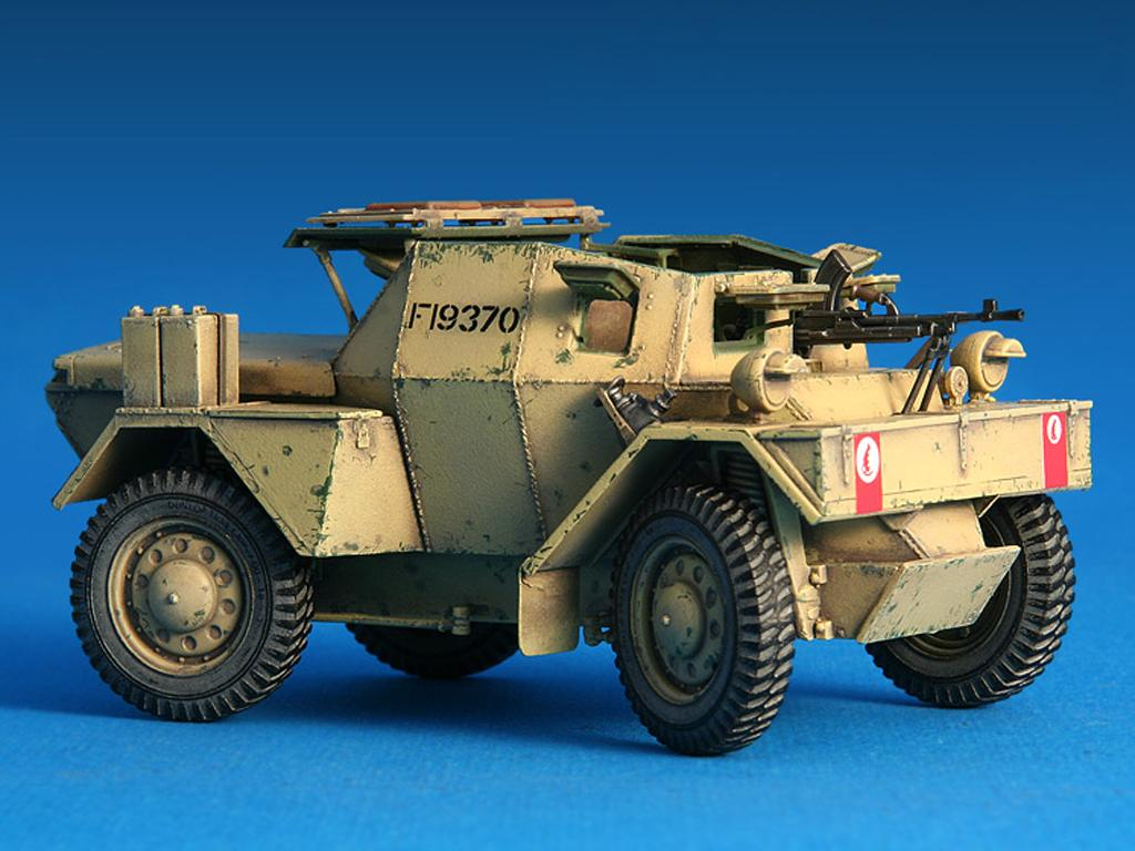 Dingo Mk.1b British Armored Car con dotacion (Vista 6)