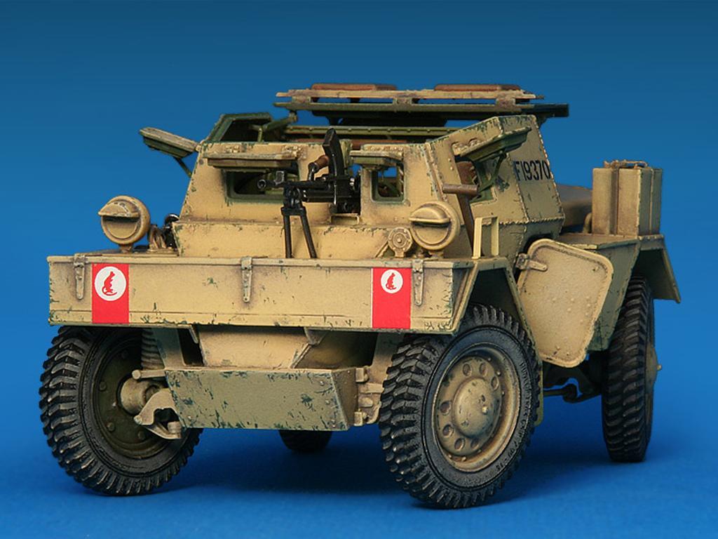 Dingo Mk.1b British Armored Car con dotacion (Vista 7)