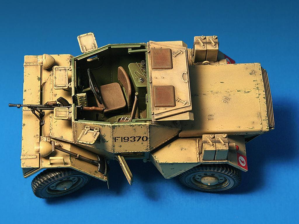 Dingo Mk.1b British Armored Car con dotacion (Vista 8)