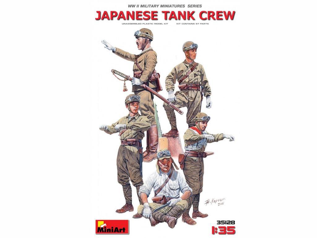 Tanquistas Japoneses (Vista 1)