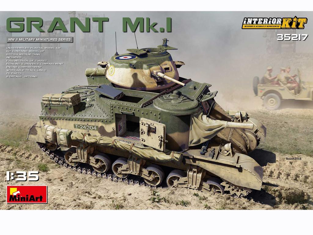 Grant Mk.I Interior Kit (Vista 1)