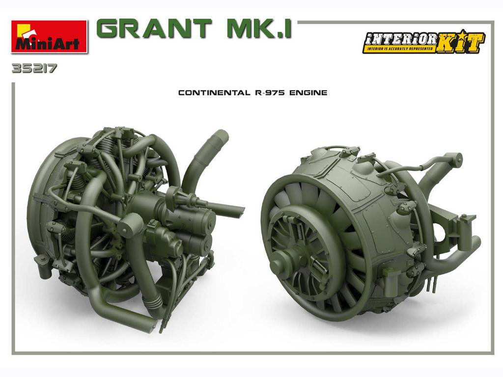 Grant Mk.I Interior Kit (Vista 10)