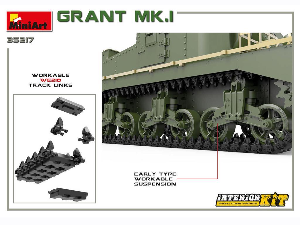 Grant Mk.I Interior Kit (Vista 11)