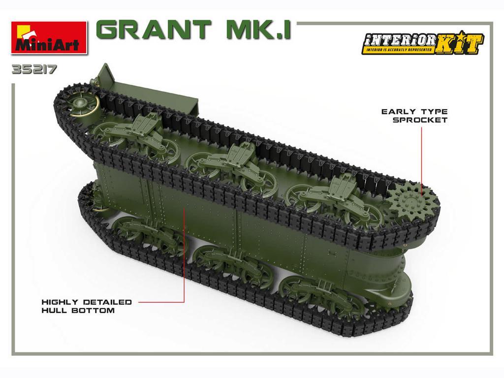Grant Mk.I Interior Kit (Vista 12)
