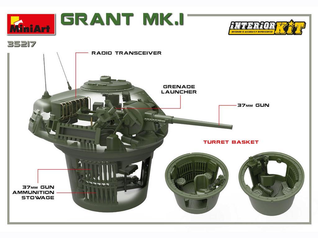 Grant Mk.I Interior Kit (Vista 2)