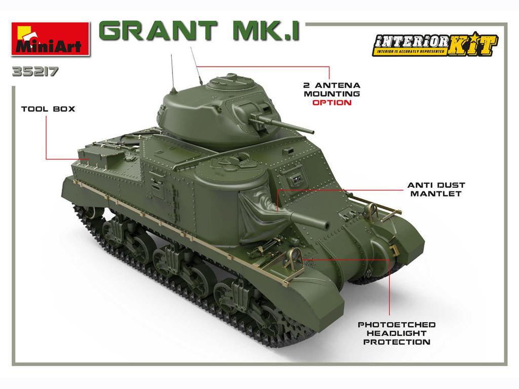 Grant Mk.I Interior Kit (Vista 3)