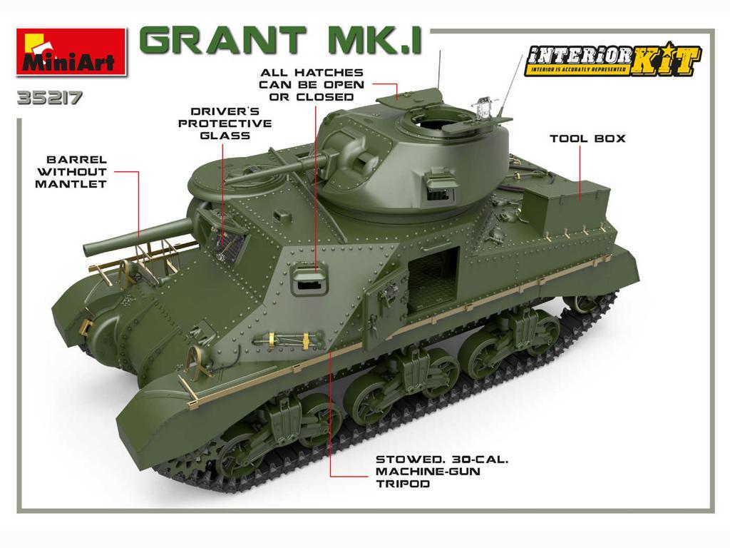 Grant Mk.I Interior Kit (Vista 4)