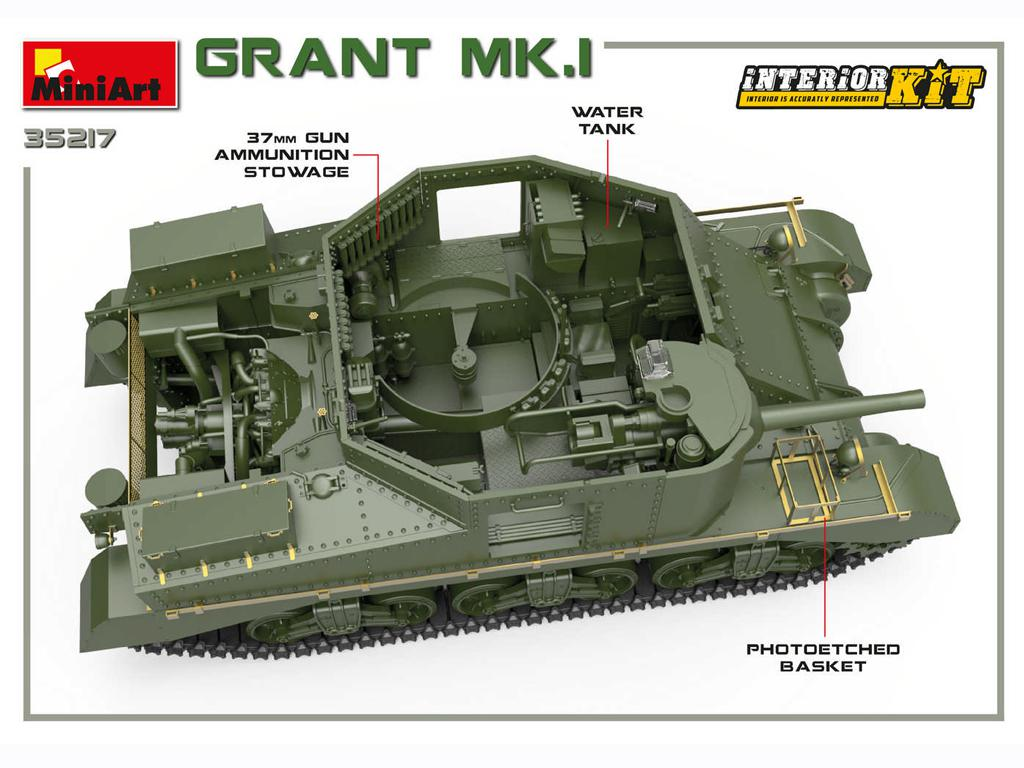Grant Mk.I Interior Kit (Vista 5)