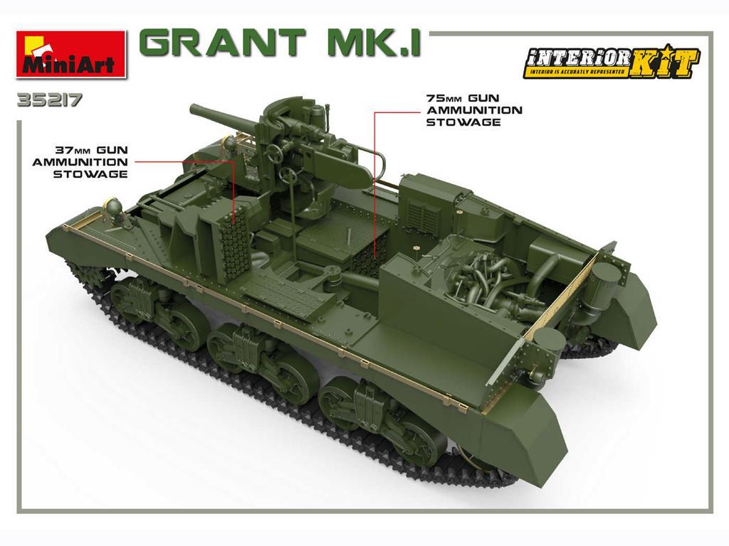 Grant Mk.I Interior Kit (Vista 6)