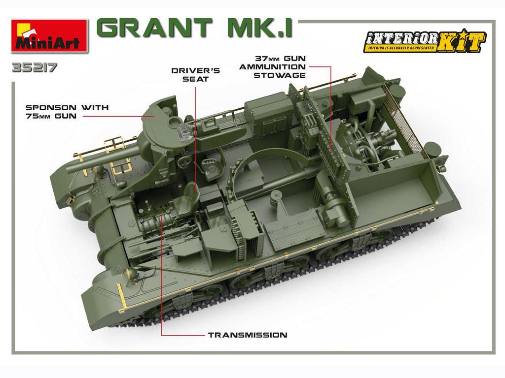 Grant Mk.I Interior Kit (Vista 7)