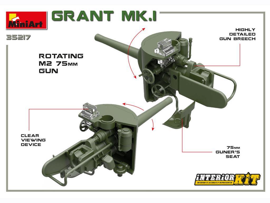 Grant Mk.I Interior Kit (Vista 8)