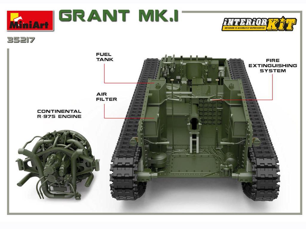 Grant Mk.I Interior Kit (Vista 9)