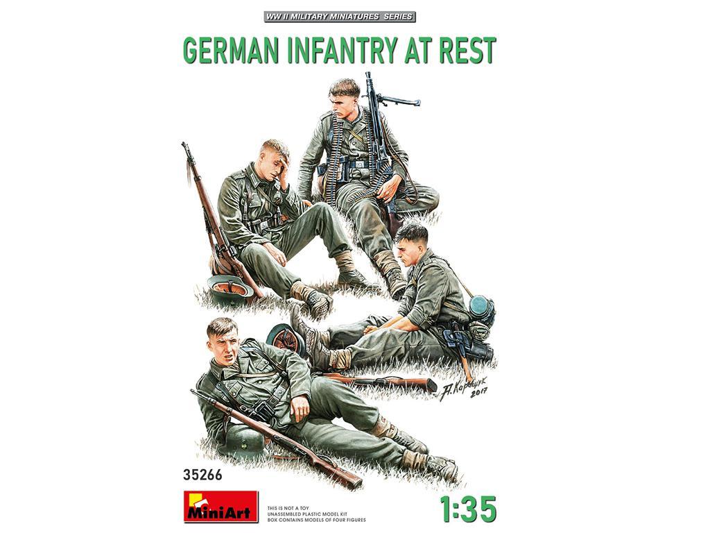 Infanteria Alemana Descansando (Vista 1)