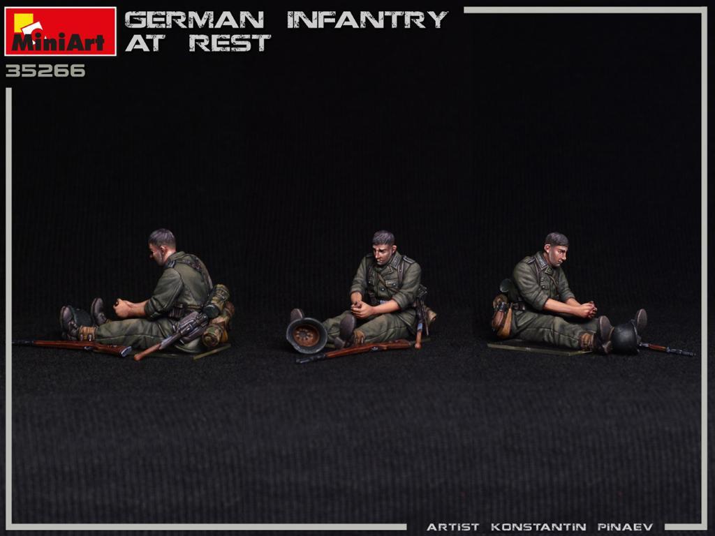 Infanteria Alemana Descansando (Vista 2)