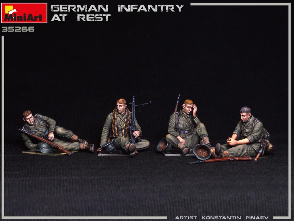Infanteria Alemana Descansando (Vista 3)