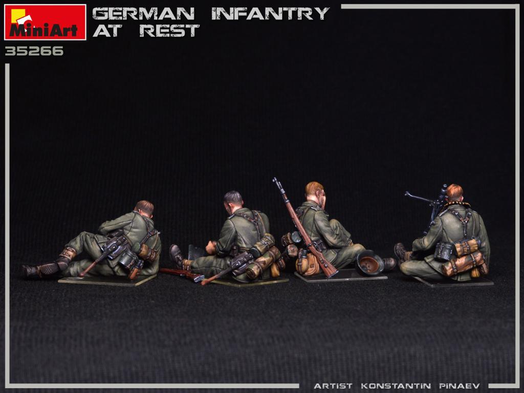 Infanteria Alemana Descansando (Vista 4)