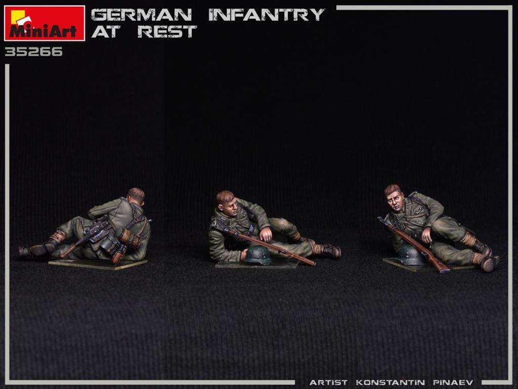Infanteria Alemana Descansando (Vista 5)