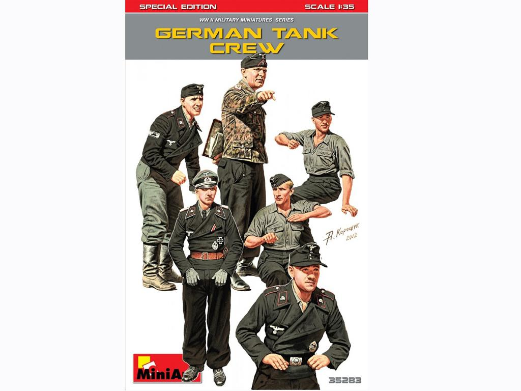 Tanquistas Alemanes (Vista 1)