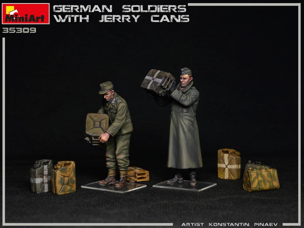 Soldados Alemanes con Jerry Cans (Vista 3)