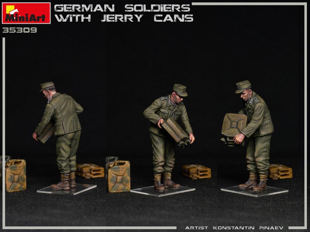 Soldados Alemanes con Jerry Cans (Vista 5)