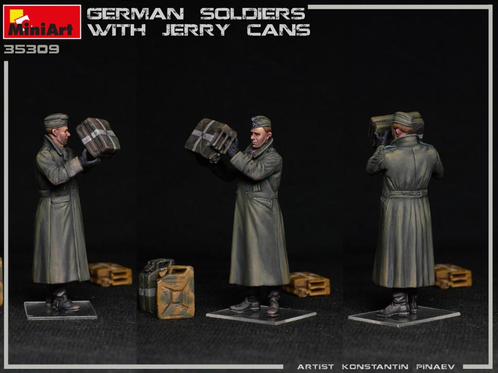Soldados Alemanes con Jerry Cans (Vista 6)
