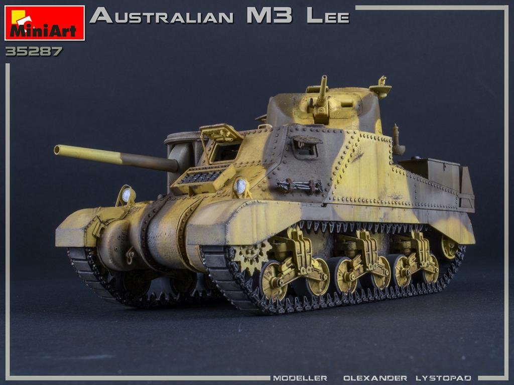 Australian M3 LEE. Interior Kit (Vista 2)