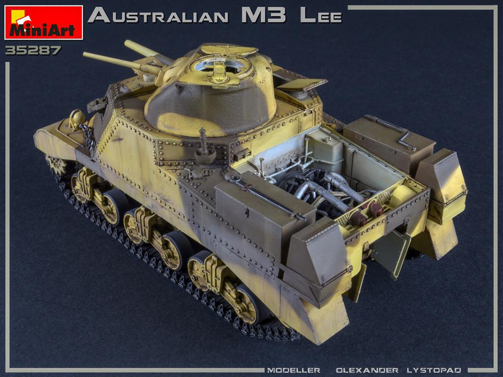 Australian M3 LEE. Interior Kit (Vista 3)